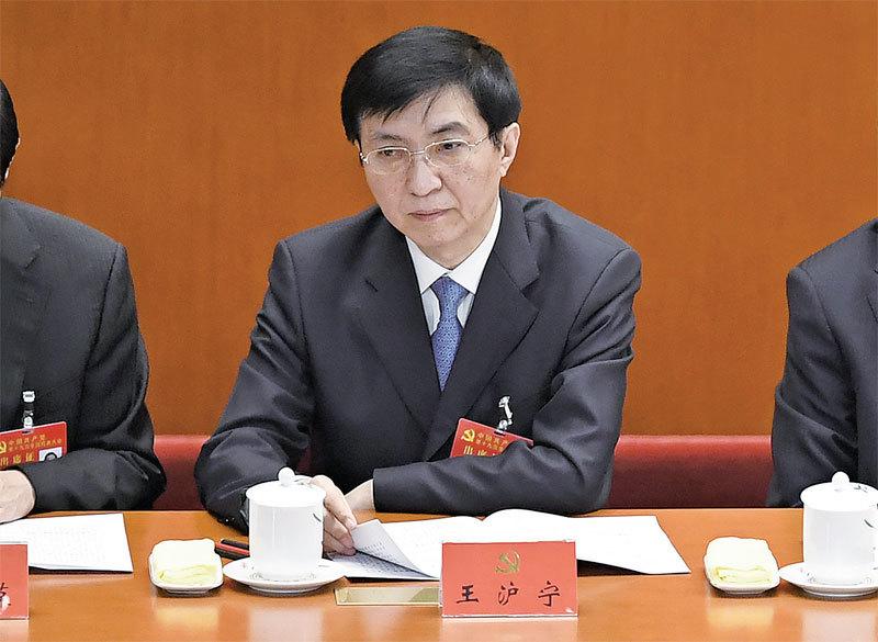 王滬寧埋葬臺灣民主的「構想」