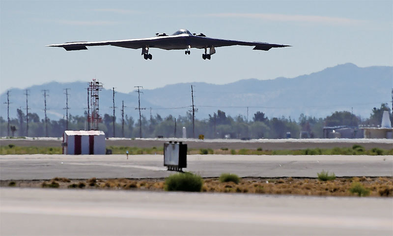 美派B-2隱形轟炸機到關島 不止針對北韓