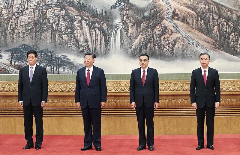 副主席、副總理及國務委員 名單流出