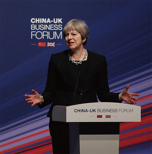 英首相訪華 拒絕批准一帶一路計畫