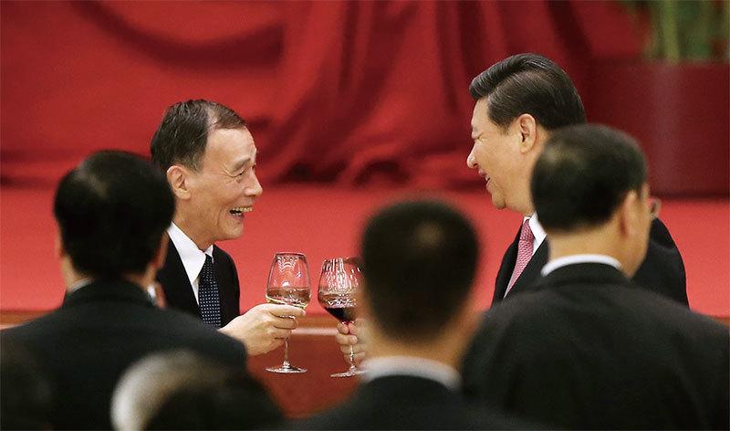王岐山高調回歸 胡錦濤習近平「襄助」