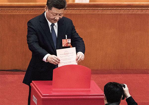 習不學毛 堅持修憲取消國家主席限期的內幕