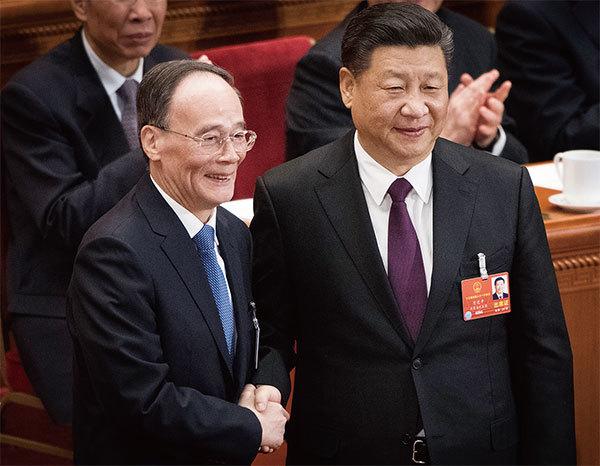 習王體制超越常委 中南海新高層名單揭祕