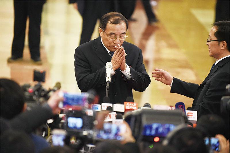 楊曉渡掌國家監察委 形同「第九常委」