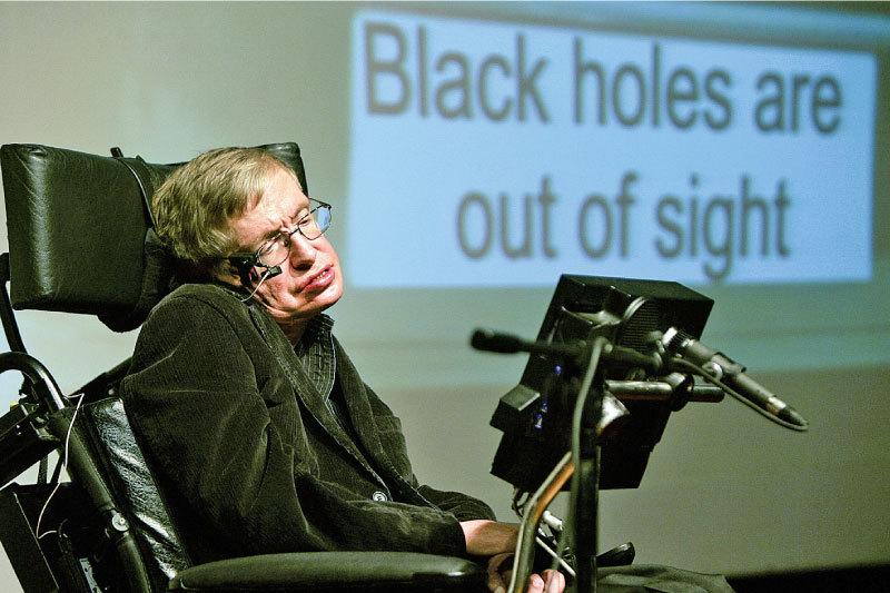 霍金是科技廣告明星 警告中國「天眼」惹外星人