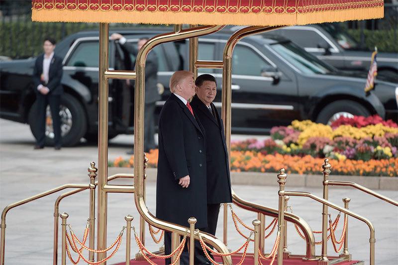 川普幫中國清算赤龍的錢囊