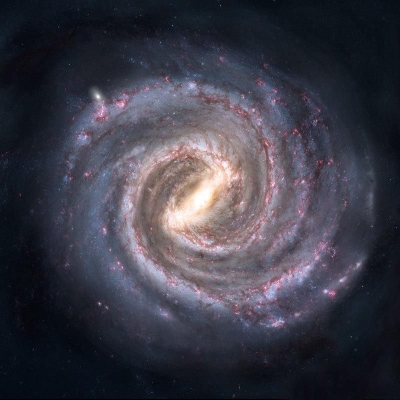 所有星系自轉周期:10億年