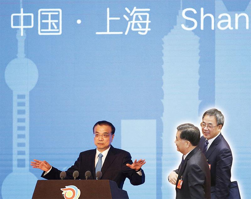 團派三國級高官相繼訪滬 對陣上海幫