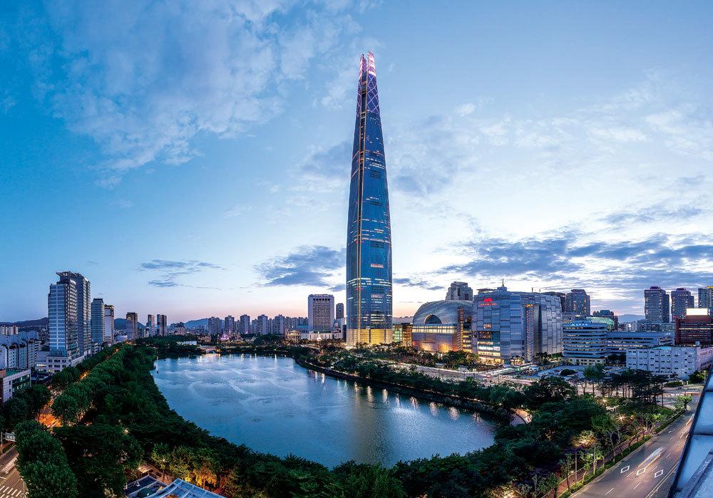 南韓最高 首爾天際線地標 樂天世界大廈(Signiel Residences)
