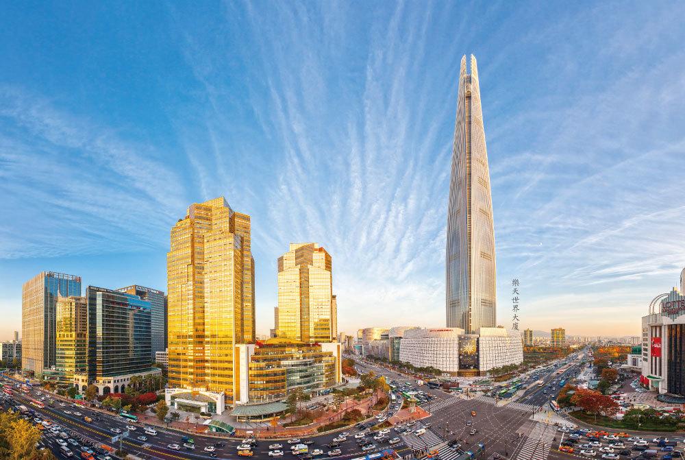 """>在南韓高空上的 V V I P Life Style  樂天世界大廈(Lotte World Tower)""""Signiel Residences"""""""