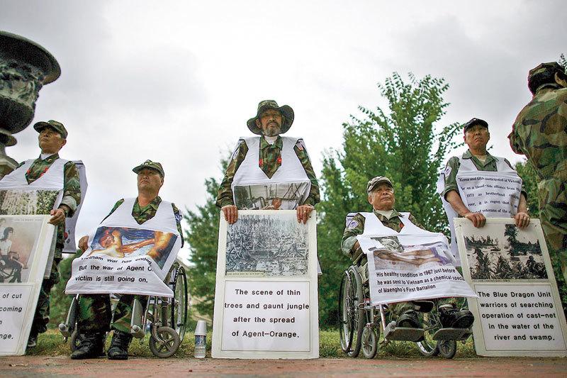 受化學毒劑侵害 越戰老兵絕望中見證奇蹟