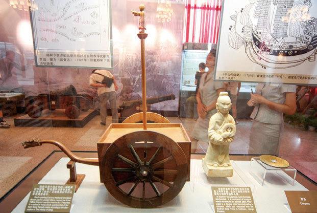 >中國古代科學發達 機器人栩栩如生