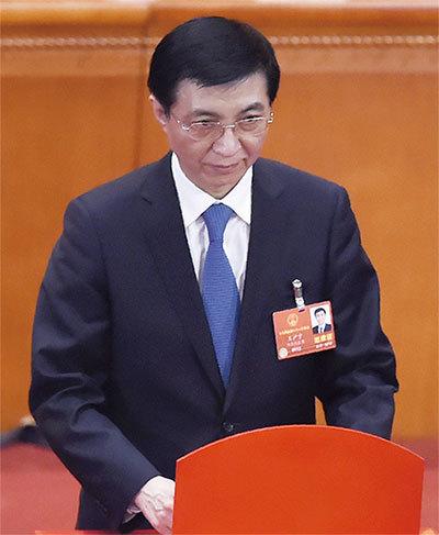 王滬寧詭異隱身 新華網首頁罕見開天窗