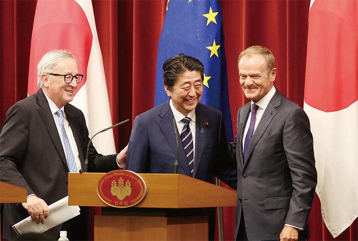 日歐簽署經濟夥伴協定 中共面臨孤立無援