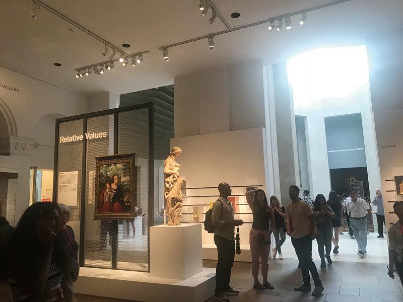>在紐約大都會美術館發現趣味標價 北方文藝復興作品值幾頭牛?