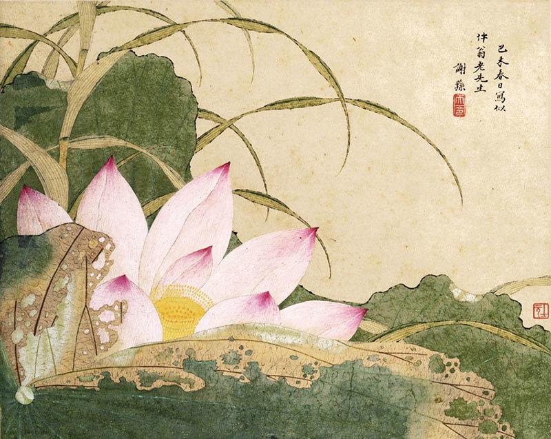蓮花入世又超凡 連繫佛國仙境