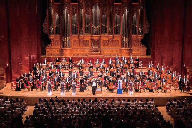 「聽到神造的音樂」 神韻交響樂2018臺灣首演爆滿
