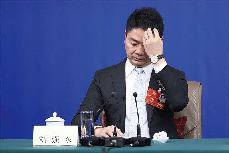 劉強東風流史 沒學到美國的精髓