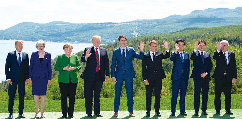 美中貿易戰 全球最富七國協作 中共孤立