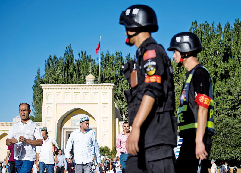 失去世界的北京政權
