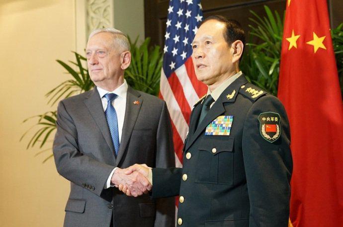網友批美中國防部長會晤