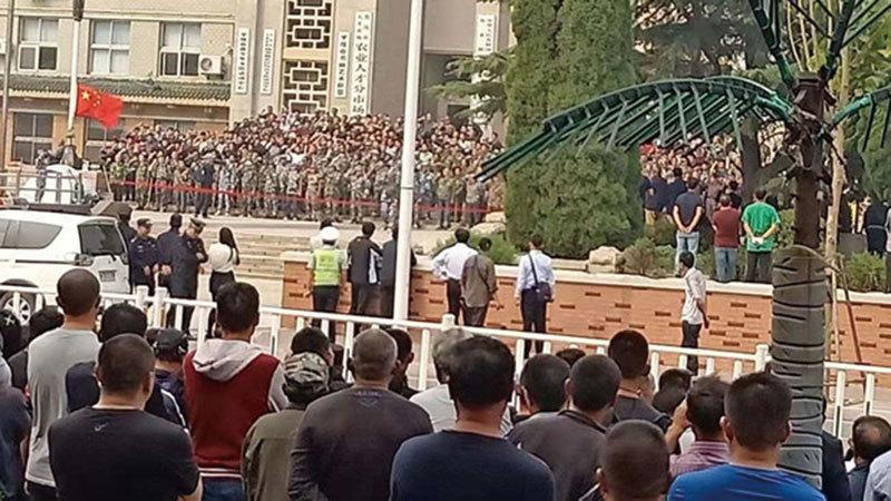 中共暴力鎮壓 老兵維權升級