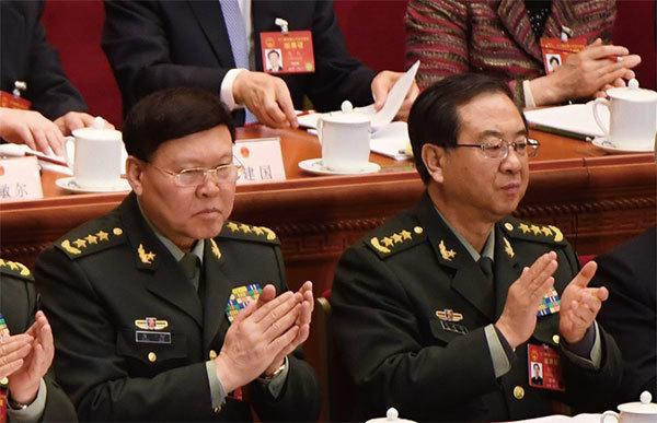 房峰輝張陽政變牽扯300將官 軍中第二輪大清洗開始
