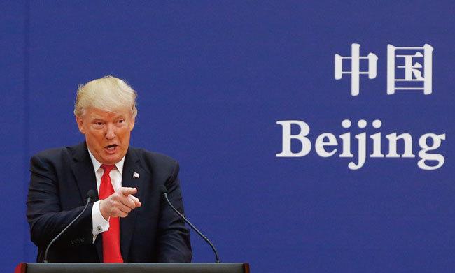 特朗普連下四城 北京不敢讓步事涉朱鎔基