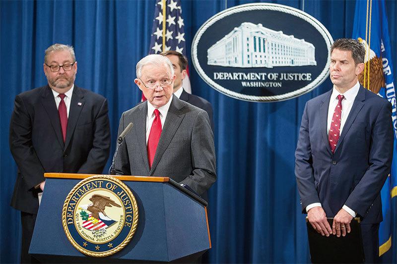 美國司法部起訴10名中共間諜 跨國逮捕鎖定江蘇國安廳