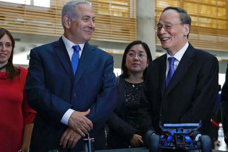 中美交鋒之際 中共為何急拉攏以色列