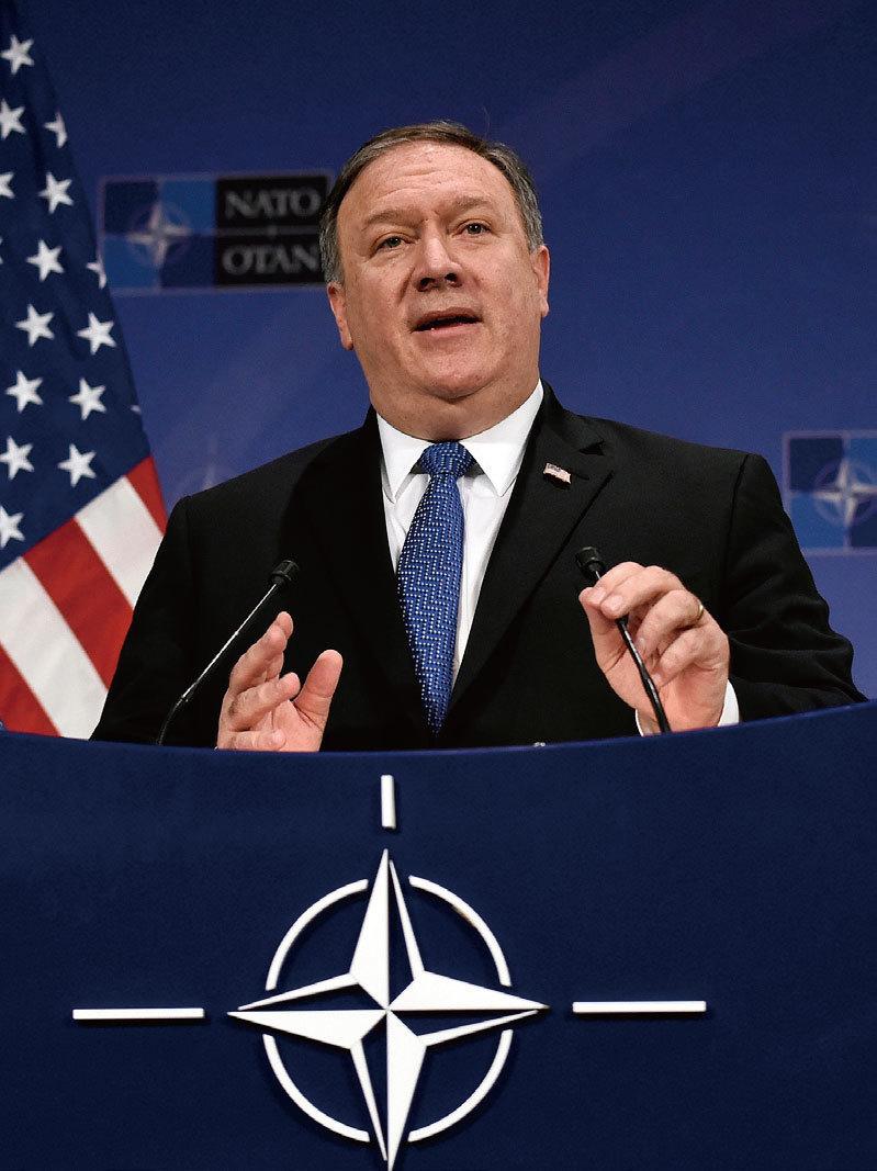 >美國將建立一個 基於規則的國際新秩序 ——美國國務卿蓬佩奧布魯塞爾演講(全文)