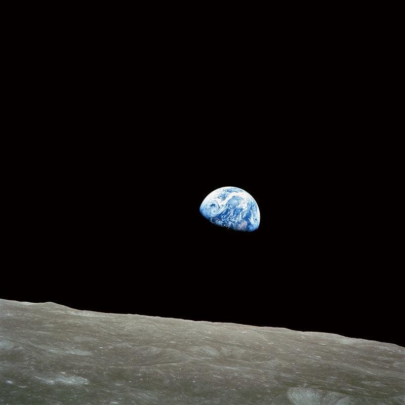 地球升起 一張照片改變了世界
