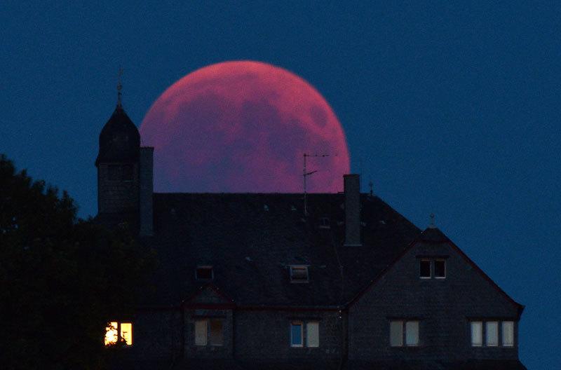 >猶太拉比:「超級血狼月」預示有政府垮臺