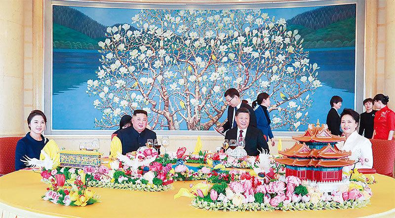 中共送金正恩三份慶生禮  「千年宿敵度蜜月」