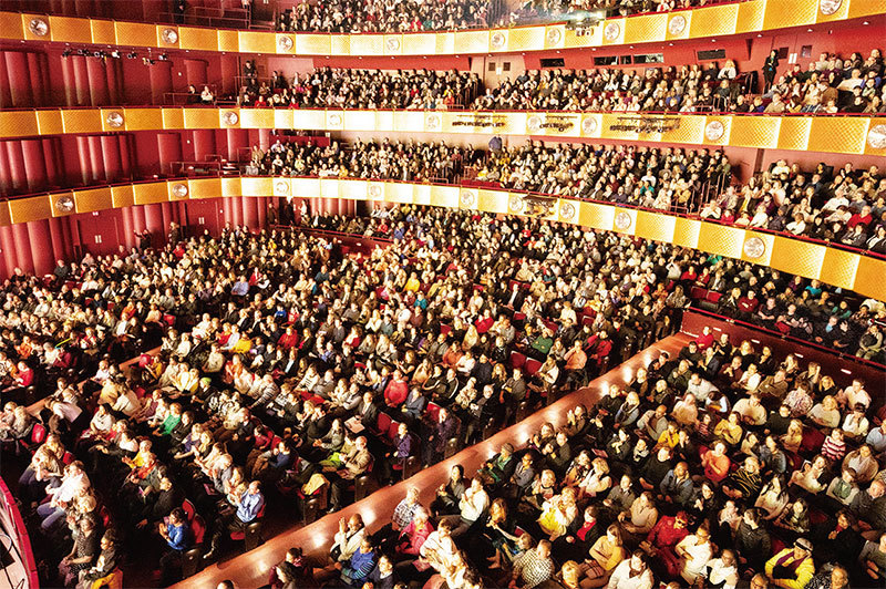 神韻六團六城同步上演12場  感動兩萬多名觀眾