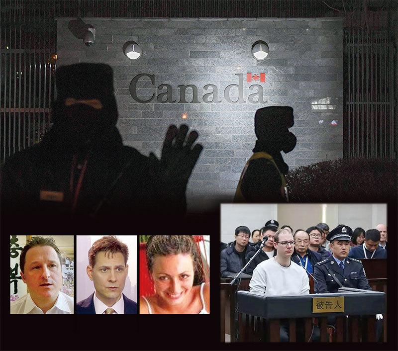 中共綁架人質換華為公主孟晚舟 各國反擊流氓外交