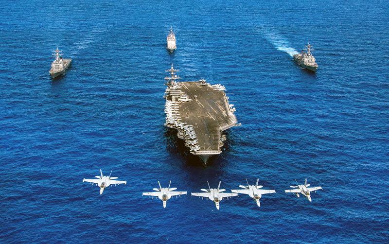 >美英印打造未來海軍 航母和核潛艇是關鍵