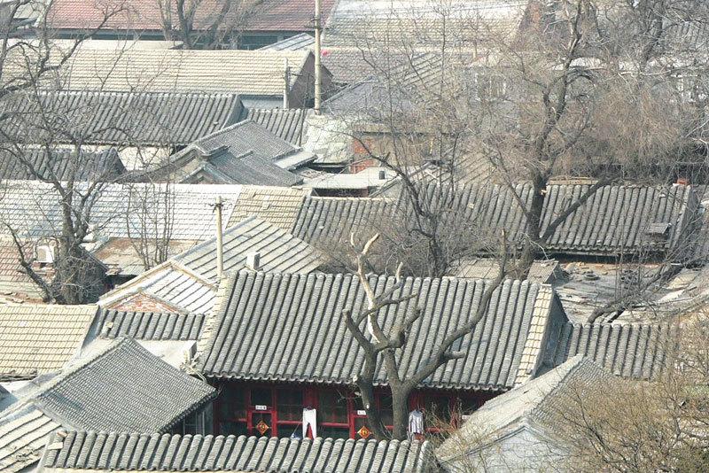 中華傳統文化之嘆 消失的胡同和四合院