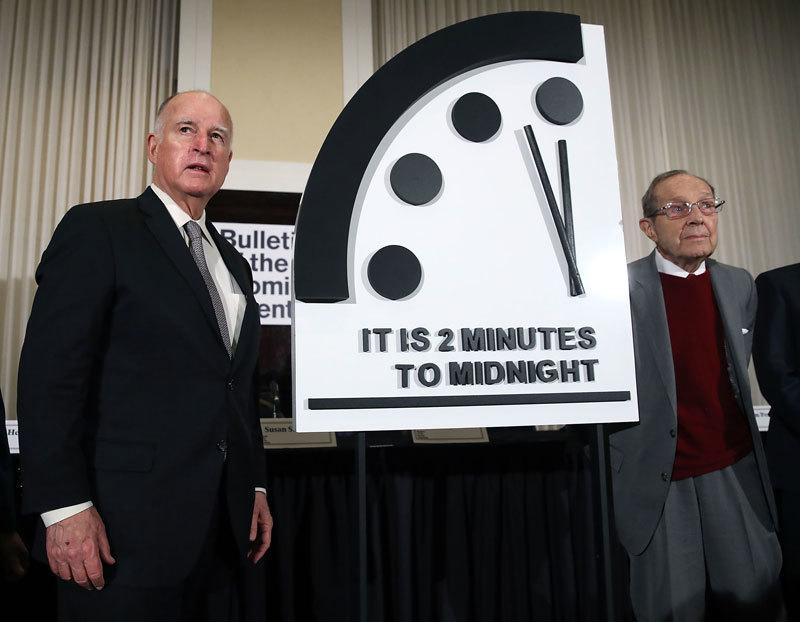 末日時鐘:人類距「毀滅」剩2分鐘