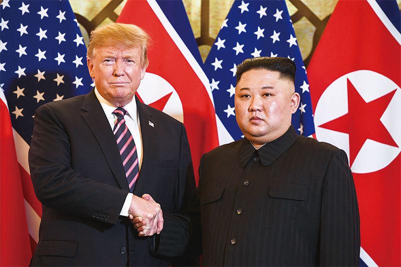 >美朝核武再會 特朗普一箭三雕?