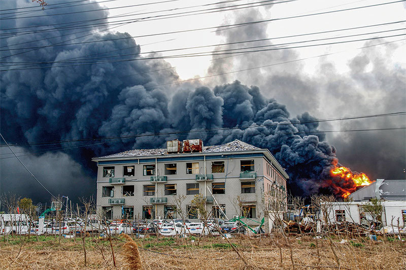 習外訪 重大事故詭異頻發 胡錦濤現身江蘇坐鎮