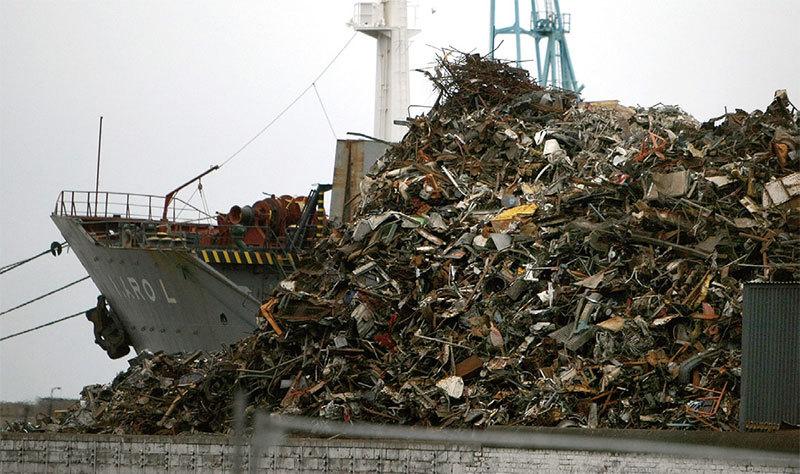 >美國垃圾在中國捲入貿易戰