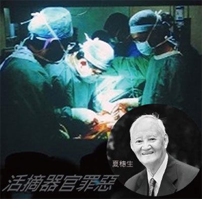 >同濟醫院教授夏穗生涉活摘 生前被國際追查