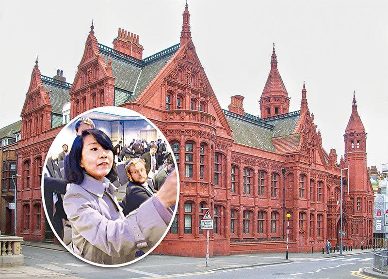 英國法官下令拘捕孔琳琳 央視國際臺改「外國代理人」