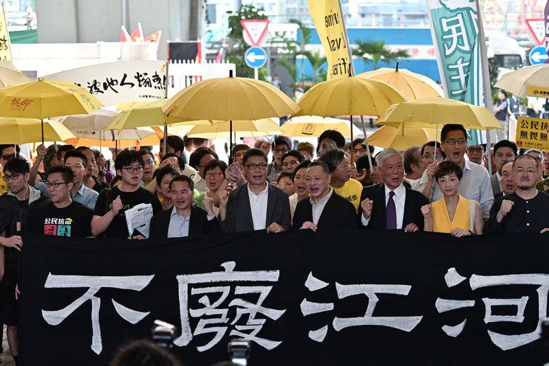 香港最黑暗的日子 「佔中九子」案被宣判