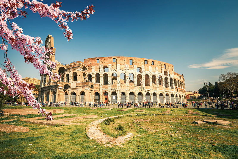 >古羅馬建築用「隱形」原理減震