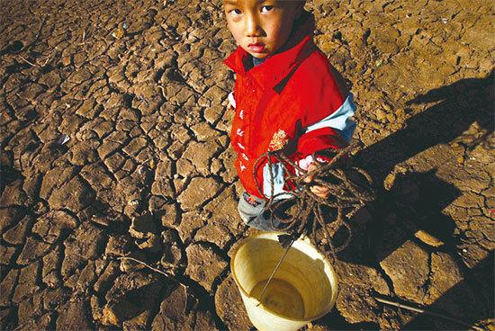 天災示警 三省同日連發六地震 雲南乾旱飲水難