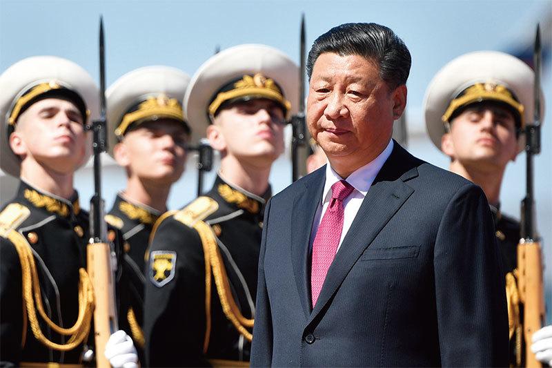 習近平「聯俄抗美」徒勞 王滬寧炒作投降派