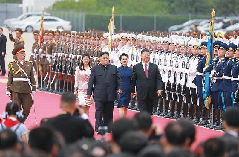 打「北韓牌」三原則 習近平突訪朝 撮合朝美峰會?