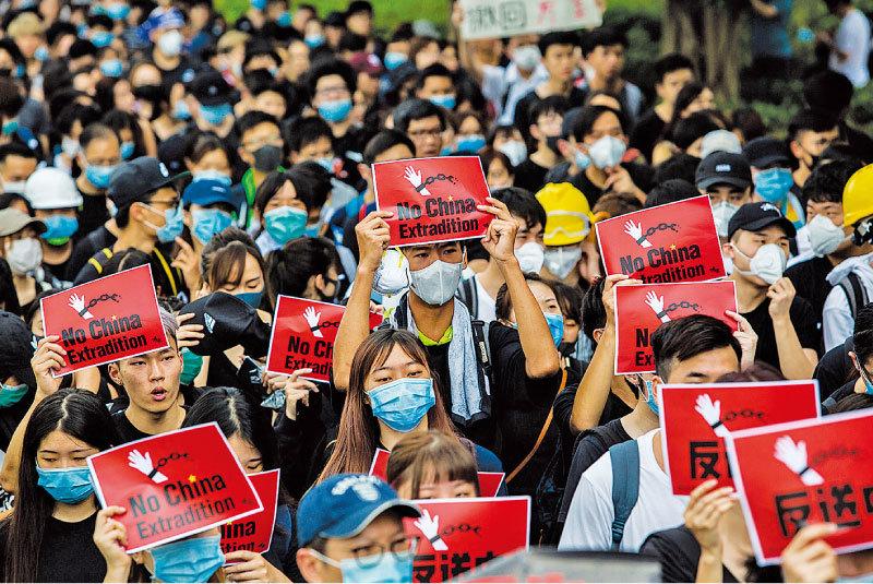 >香港惡法為中共綁架合法化?